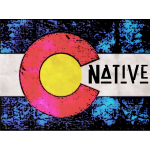 Native Colorado Flag